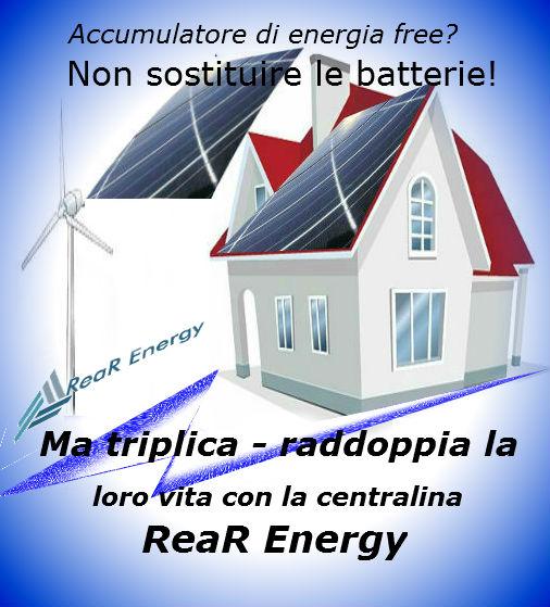 triplica e raddoppia la vita al tuo accumulatore di energia