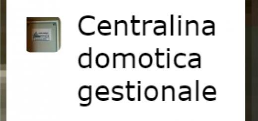 Issol mod re03 base per impianti a isola o con for Centralina domotica