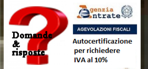Autocertificazione per iva agevolata 10 archives for Autocertificazione iva 10